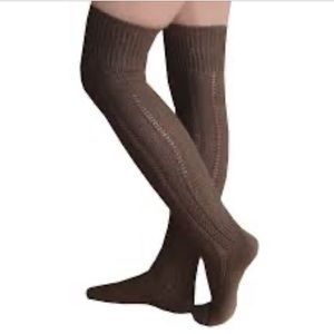 NEW cozy over the knee knit socks